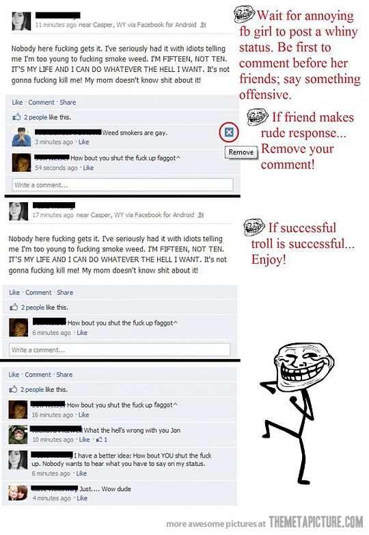 How to troll annoying friends on Facebook