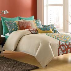 Cute bedding.