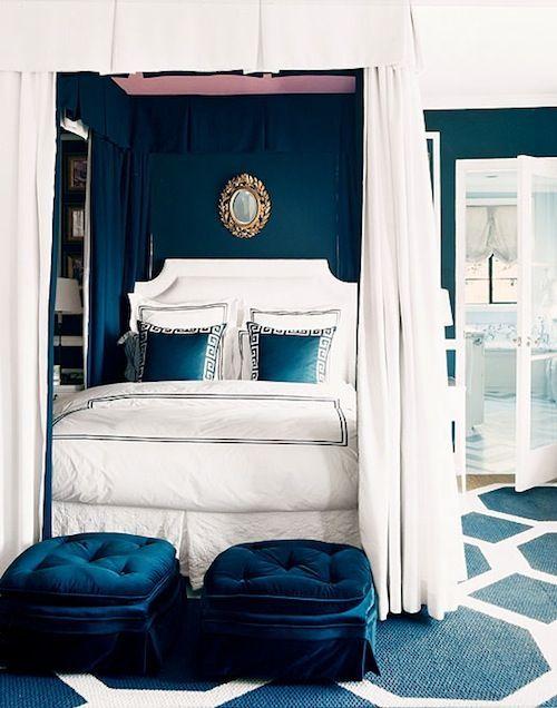 Blue Bedroom by Mary McDonald
