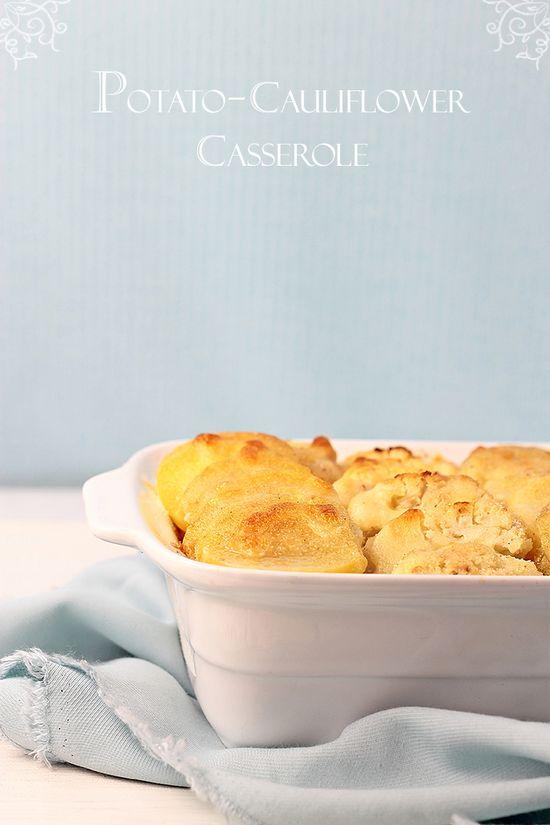 Potato Cauliflower Casserole