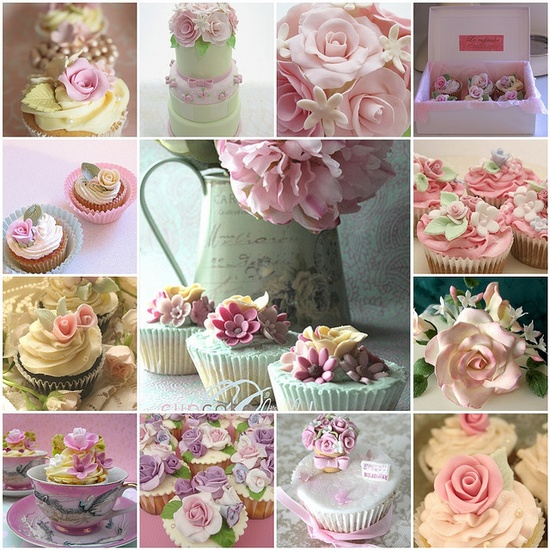 Image detail for -CUPCAKES SHABBY CHIC.....