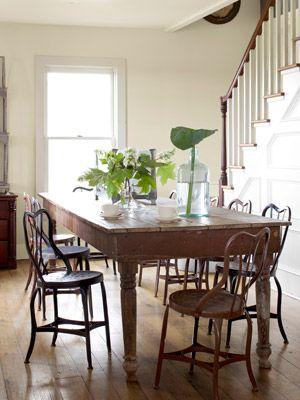A Farmhouse Dining Room