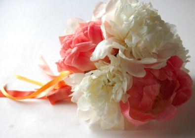 How to make a lovely peony bouquet.