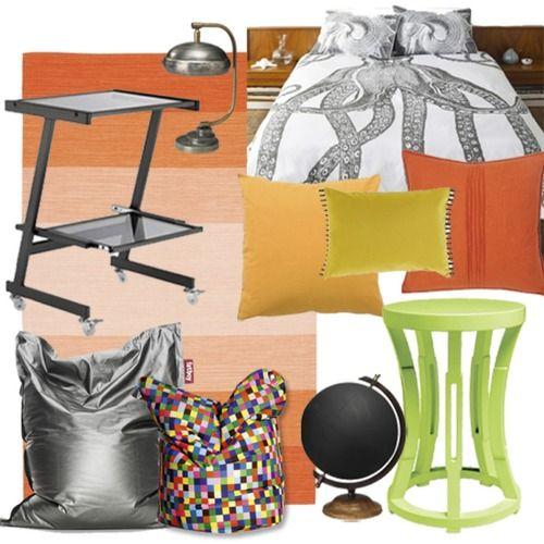 Throwback inspired room design!