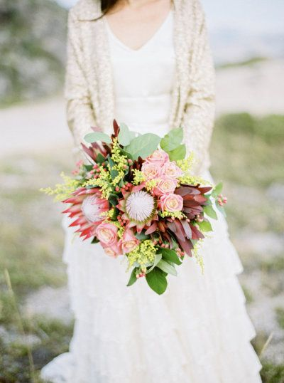 #protea #bouquet