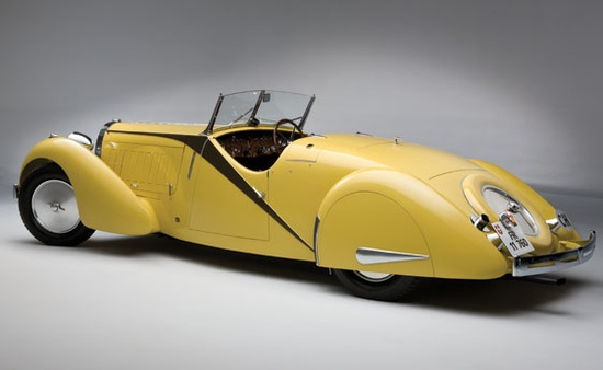 "Another on auction at RM - this time a 1935 Bugati Type 57 ""Grand Raid"" Roadster"