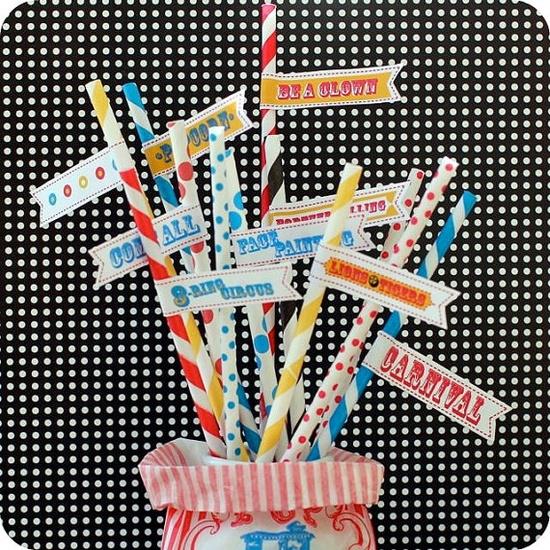 circus straws