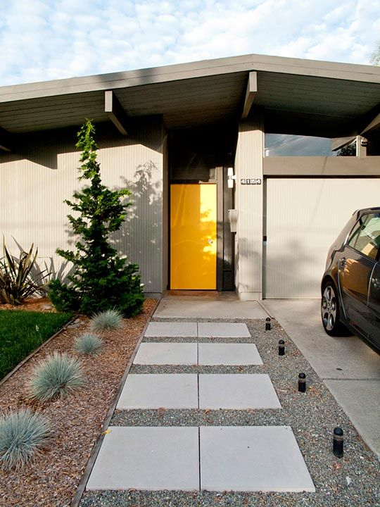 "EICHLER HOMES: Hunter & Casie's ""Redneck Modern"" Eichler Home. 10/13/2012 via @Gilda Anderson Locicero Therapy"