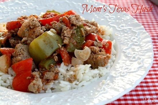 Mommy's Kitchen: Mom's Texas Hash from Gooseberry Patches 101 Cozy Casseroles
