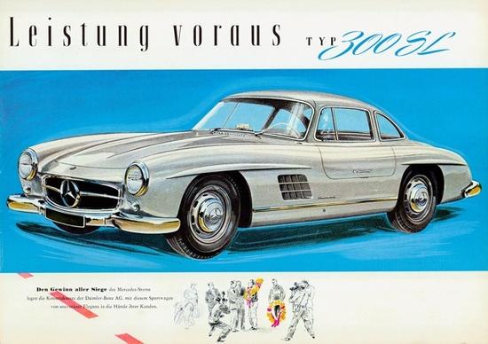 1954 Mercedes 300 SL