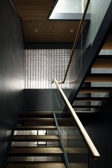 Optical Glass House - Hiroshima, Japan - 2012 - NAP Architects #interiors #stair #architecture