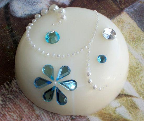 "Handmade Novelty Soap - Bling - Decorative Soaps - ""Bling My Soap"" - Free Shipping Domestic by #LostLemonade on @Etsy!"