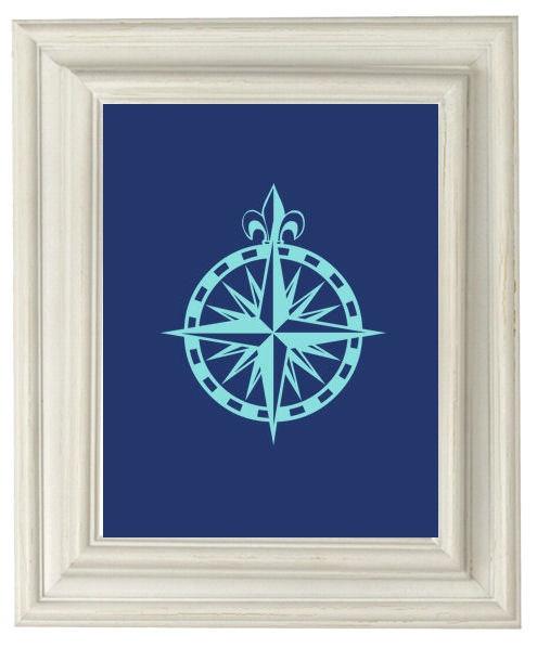 Aqua Compass @OliveRuePress