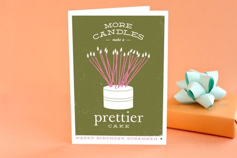 Prettier Cake Greeting Cards