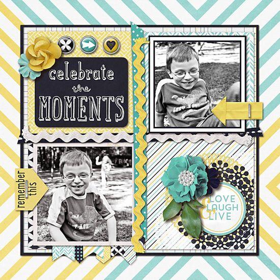 Celebrate the Moments - Scrapbook.com