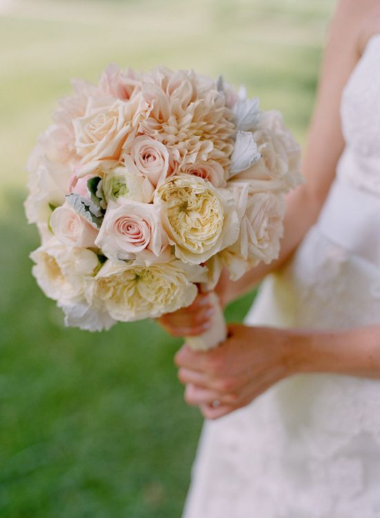 Romantic Mixed Bouquet ~ Photography by kateheadley.com, Floral Design by hollychappleflowe...