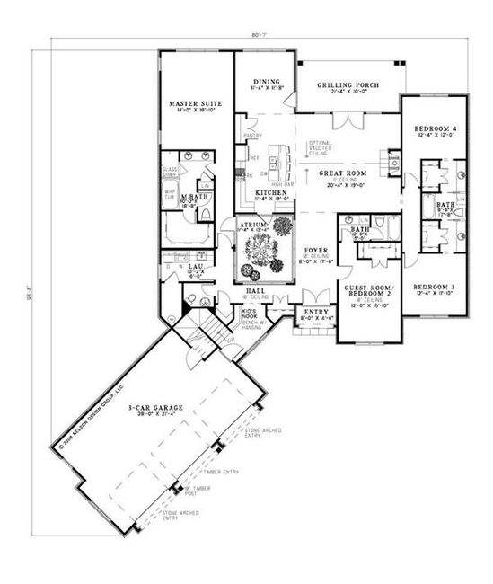 House Plans - Home Design 1294