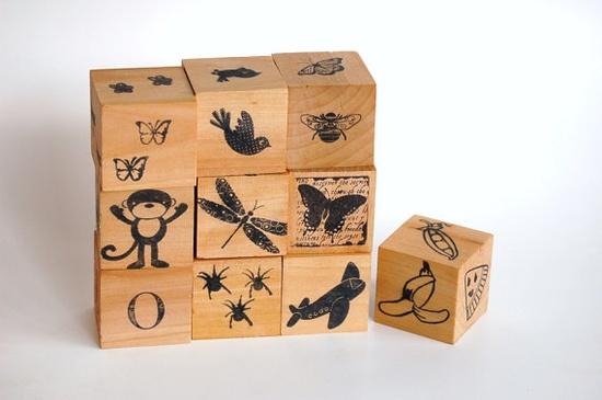 Wood Toy- BUSY BLOCKS