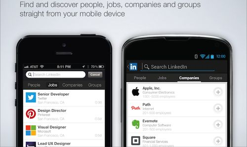 LinkedIn For Android And iOS Updated, Brings An Update To Search Functionality