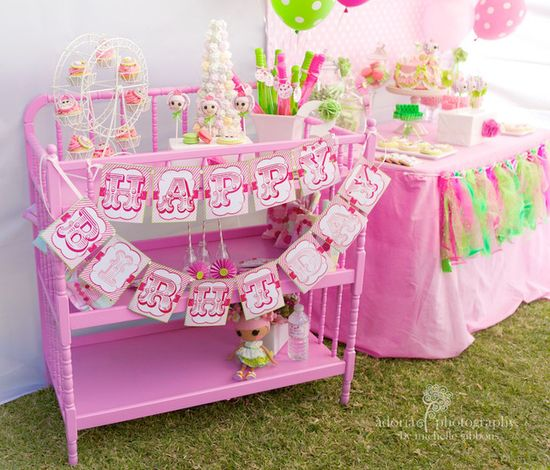 Lalaloopsy party with wonderful details #lalaloopsy #party