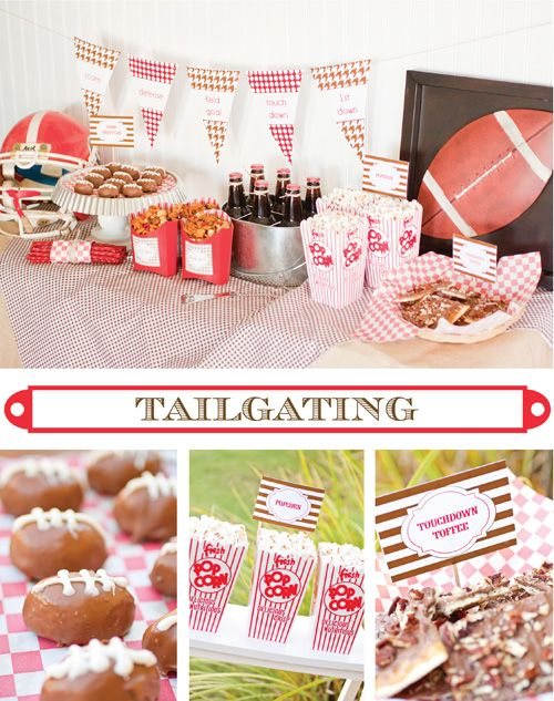 Tailgate party idea