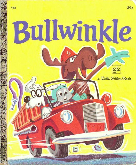 Little Golden Book: Bullwinkle
