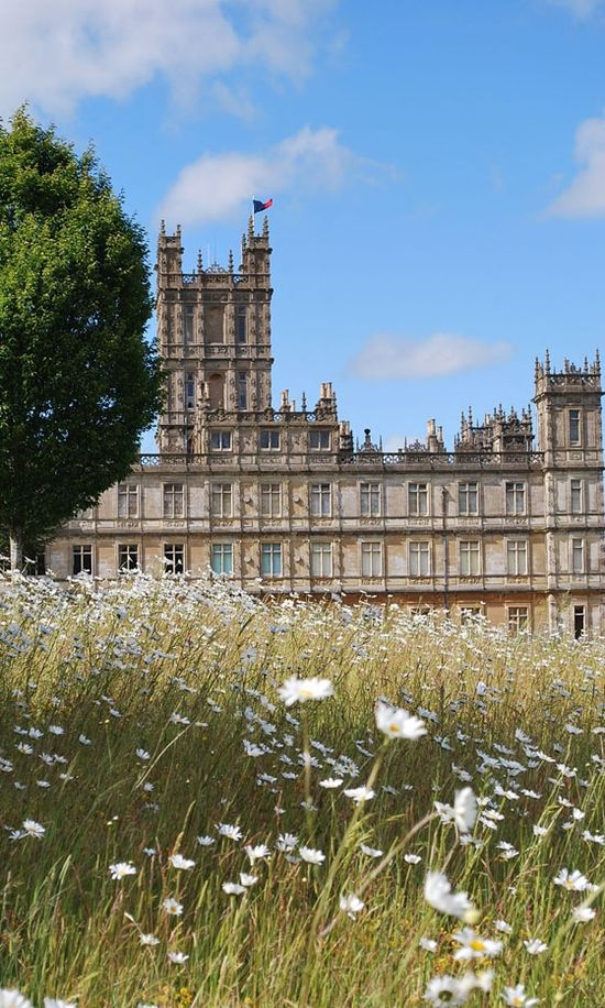 Highclere Castle, aka Downton Abbey