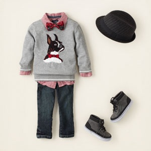 baby outfits..minus the stupid hat