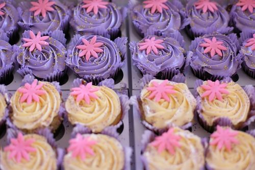 cupcakes #rapunzel #tangled #rapunzel party #tangled party #cupcakes