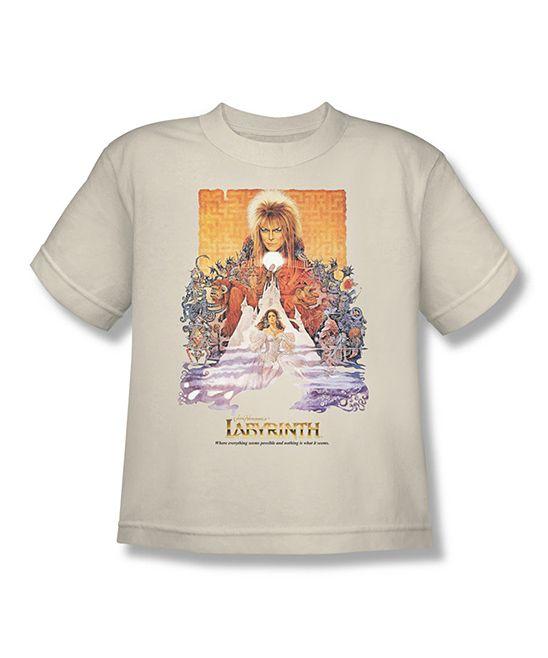 Cream Labyrinth Movie Poster Tee - Kids