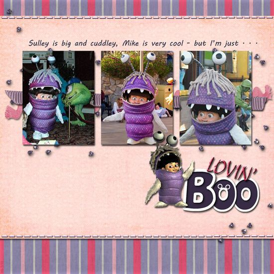 #papercraft #scrapbook #layout #Disney scrapbook