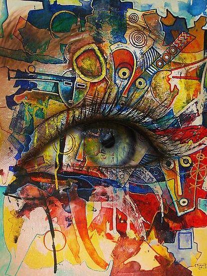 #graffiti eye #street art