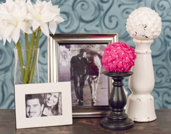 Crepe Paper Flower Ball - 15 Spring DIY Decorating Ideas