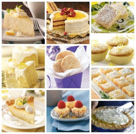 Awesome... Top 10 Lemon Desserts Recipes ~ Brighten up any meal with these top-rated lemon desserts, including lemon cakes, lemon bars, lemon cookies, lemon cheesecakes, lemon pies and lemon squares