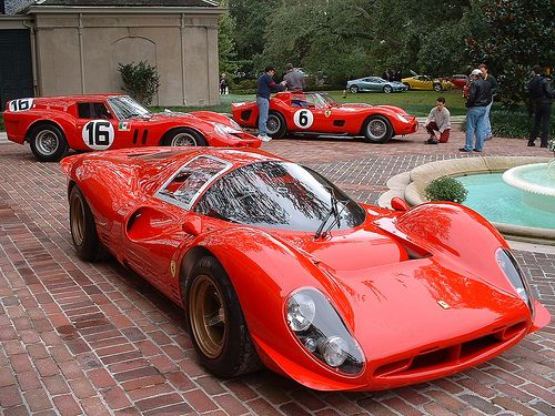 Ferrari 330 P4 and Friends
