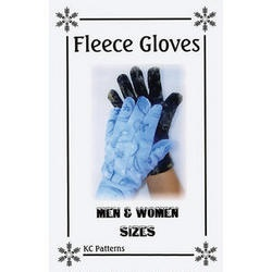 Controlled Exposure Fleece Gloves Pattern - Rockywoods Outdoor Fabrics
