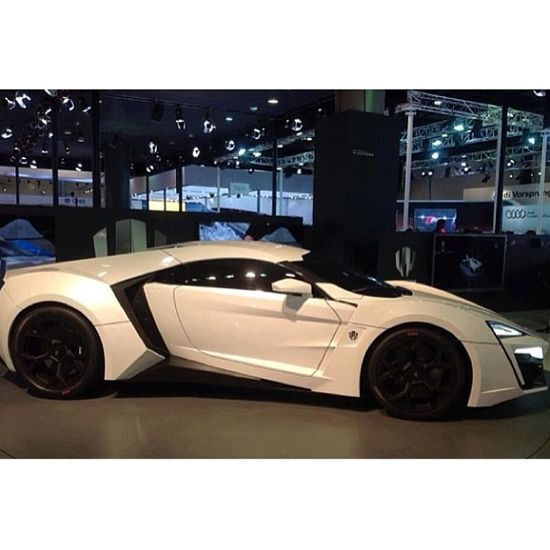 Must have!  Lykan Supercar - one of the World's most expensive supercars