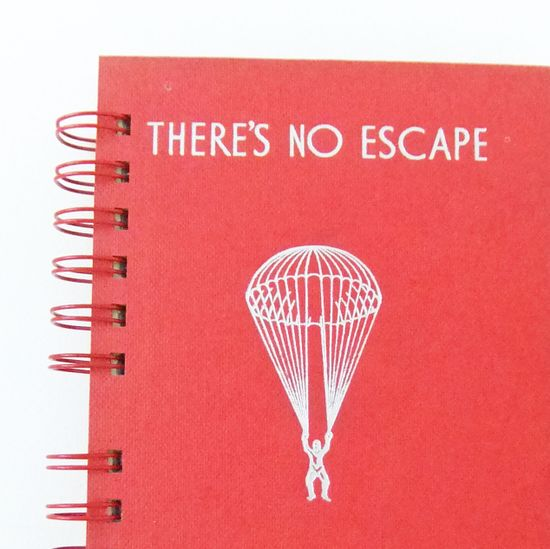 Handmade Journal  Upcycled Notepad  by peonyandthistle, £22.00