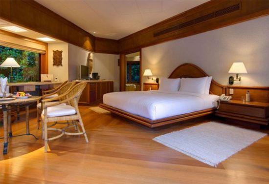 Resort Landscape Bedroom Design