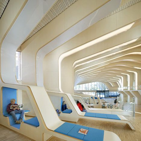 Vennesla Library and Cultural Centre by Helen & Hard Architects. Insanely Awesome!