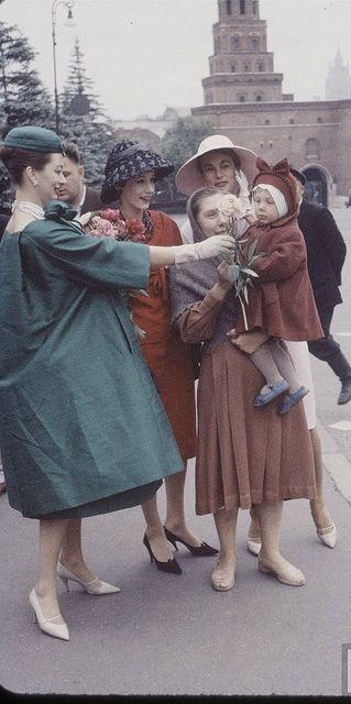 Christian Dior in Moscow - June 1959