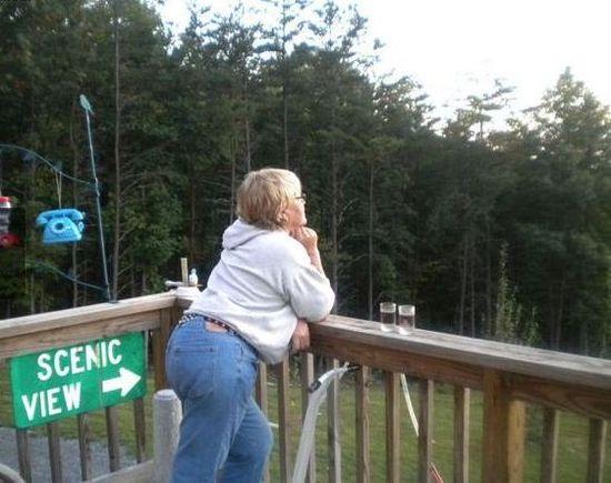 Scenic view.