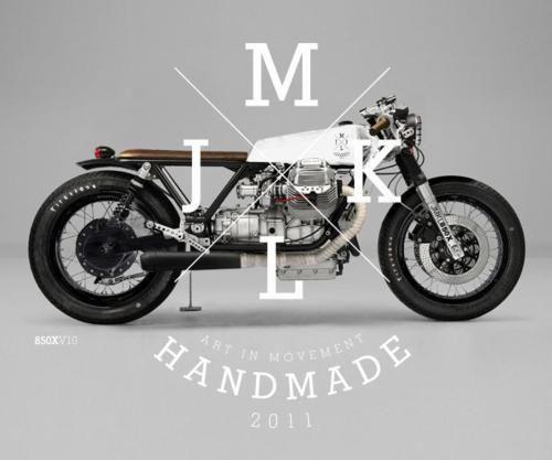 Handmade Guzzi/CX (?) cut-down.