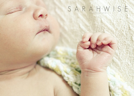 newborn hand