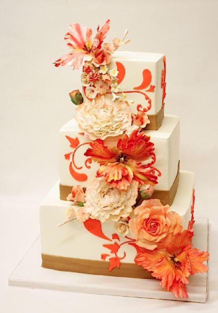 Lulu Scarsdale - Wedding Cakes - buttercream