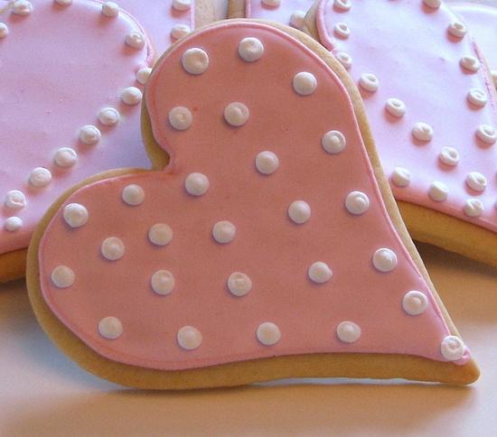 heart cookie #valentine