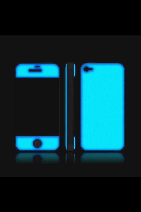 Glow in the dark iPhone Case.