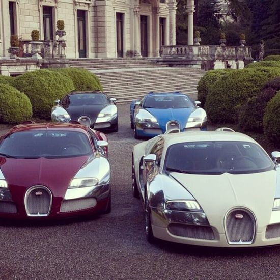 This to me is heaven #Bugatti's