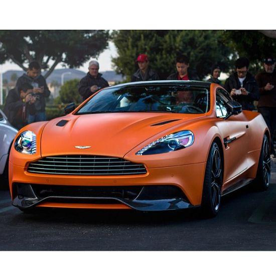 Gorgeous Aston Martin Vanquish