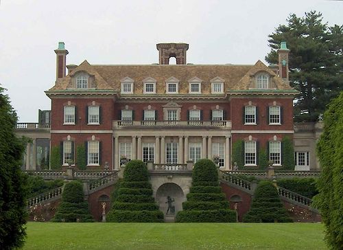 Westbury House from the South Lawn in Westbury, Long Island, New York